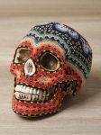 huichol beaded skull 4